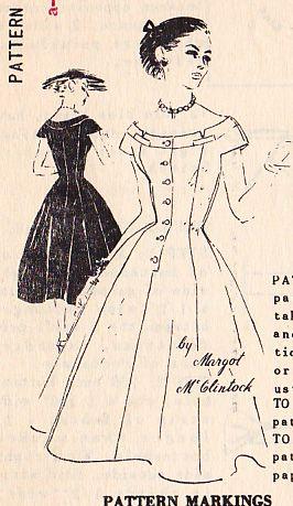 Spadea 1263  Margot McClintock dress with beautiful details