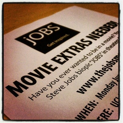 Attention #SoCal! @thejOBSmovie needs EXTRAS: June 18th @ UCLA. Learn more on Facebook: http://on.fb.me/jOBSmovie