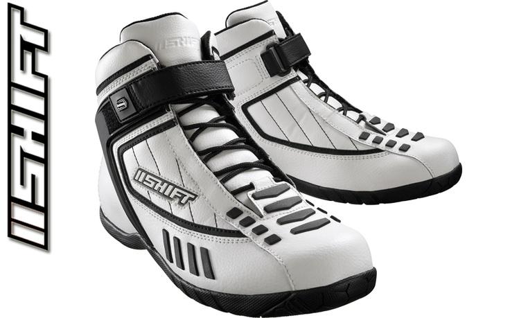 Shift Fuel Street Shoes White Black