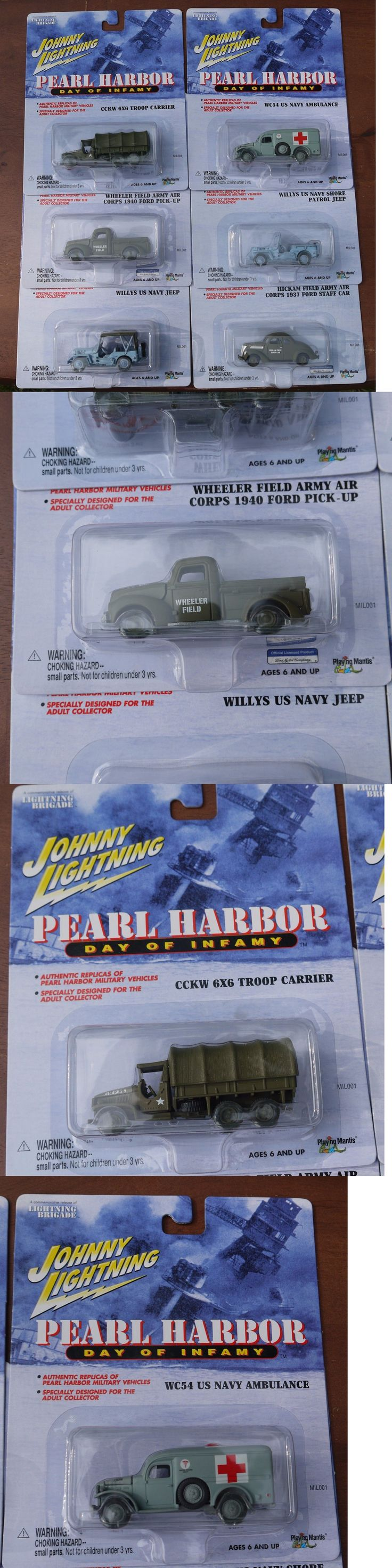 Tanks and Military Vehicles 171138: Johnny Lightning Pearl Harbor Day Of Infamy Complete Set -> BUY IT NOW ONLY: $66.66 on eBay!