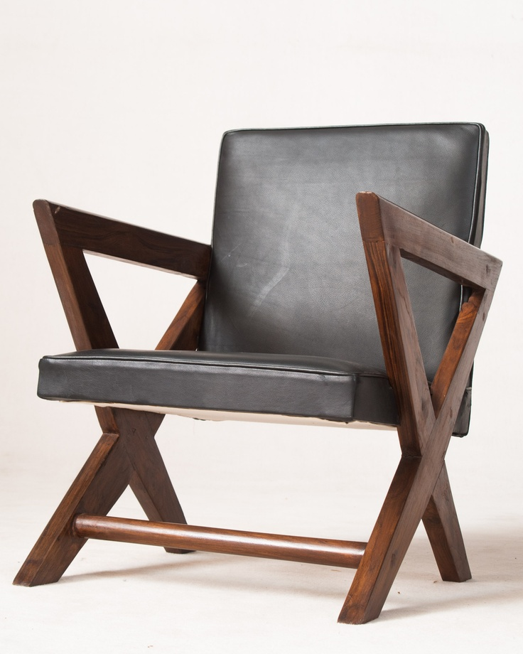 Pierre Jeanneret, armchair PJ-SI-49-A, Model 'Showroom armchair', designed for Tagore Theatre in Chandigarh, India