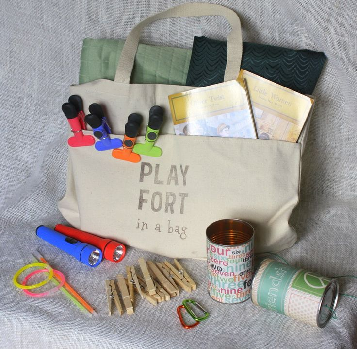 Fort Kit - Play Fort in a Bag - Gift Ideas for Kids - Unique and Fun Play for Kids - Indoor Play - Pretend Play - Play Castle - Unique Gift by StellasTreehouse on Etsy https://www.etsy.com/listing/206587079/fort-kit-play-fort-in-a-bag-gift-ideas