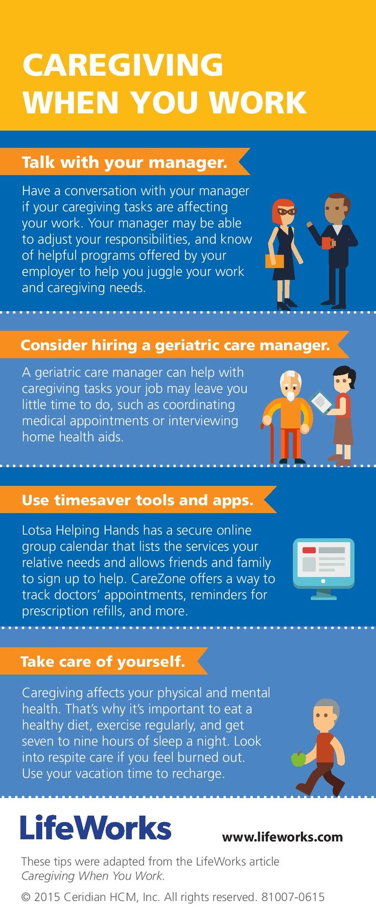how to achieve worklife balance infographic