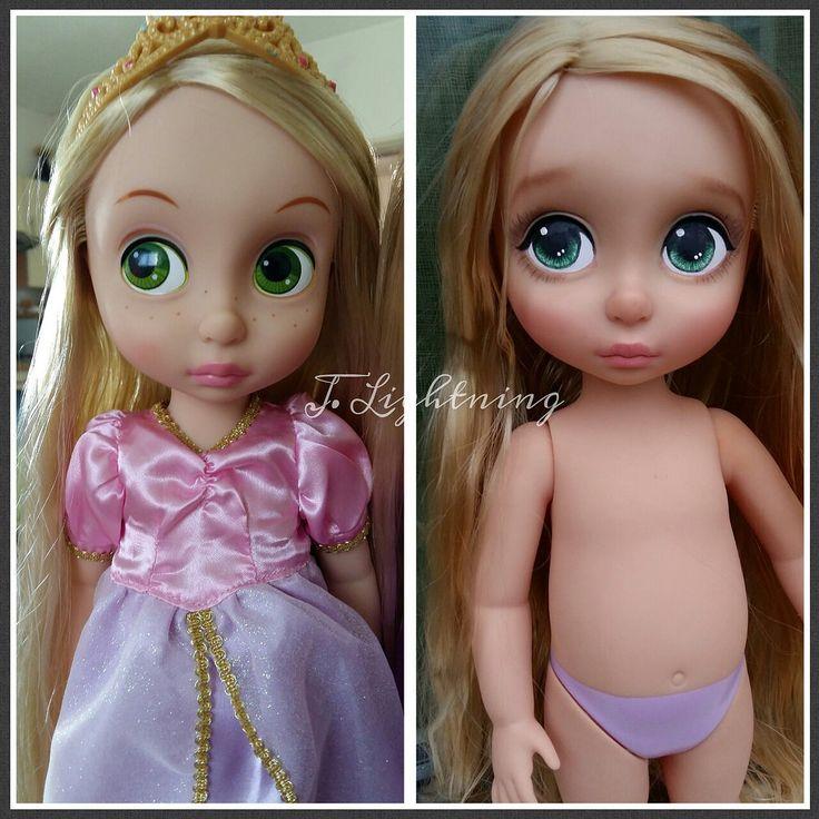 https://flic.kr/p/upaRaw | rapunzel-raiponce-animator-repaint-doll-disney-ooak-custom (6)