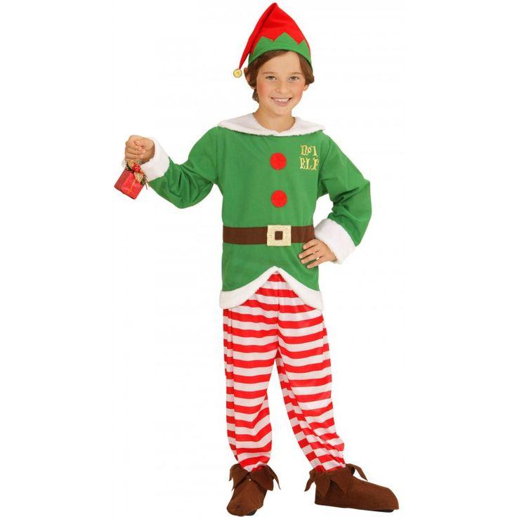 Kleiner Weihnachtself Kostüm