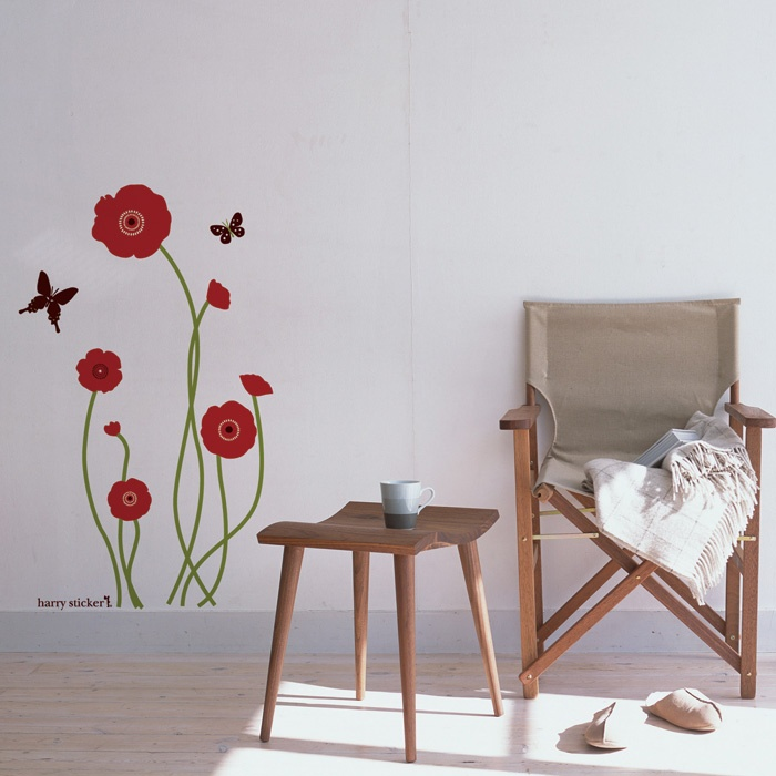 ウォールステッカー シール wallsticker butterfly Wallpaper interior Design