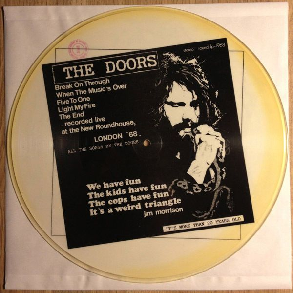 The Doors \u2013 London \u002768 Picture Disc Rare 1000 Copies Made Recorded Live 1968 & 26 best The Doors Picture Discs (Beautiful!) images on Pinterest ...