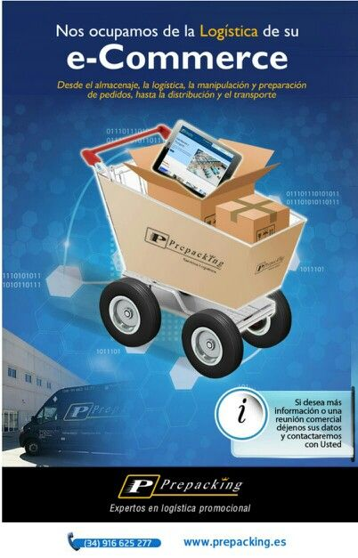 E-commerce. Marketing promocional. LOGISTICA ESPECIALIZADA Y PERSONALIZADA.