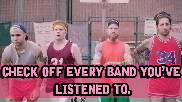 How Many Of These Pop-Punk Bands Have You Heard || I've heard of almost all of these
