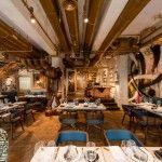 Bibo es un restaurante que expone a los mejores artistas urbanos del mundo.