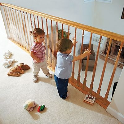Clear Banister Guard Yet Another Amazing Safety Solution That One Step Ahead Offers Keep Little
