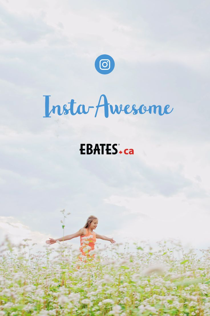 Always the latest buys & fun contests on Instagram. Follow @ebatescanada to join the #CashBackCrew ❤️