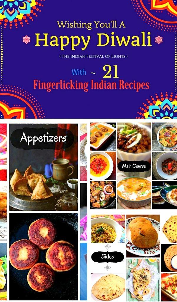 21 Fingerlicking Indian Recipes for Diwali | November 11, 2015