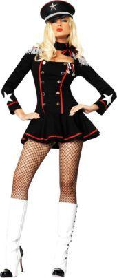 Adult Major Mayhem Military Costume - Military Costumes - Womens Costumes - Halloween Costumes - Categories - Party City
