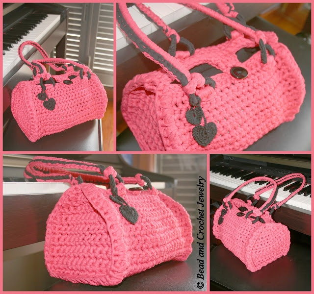 Crochet Bags ~ Bead and Crochet Jewelry