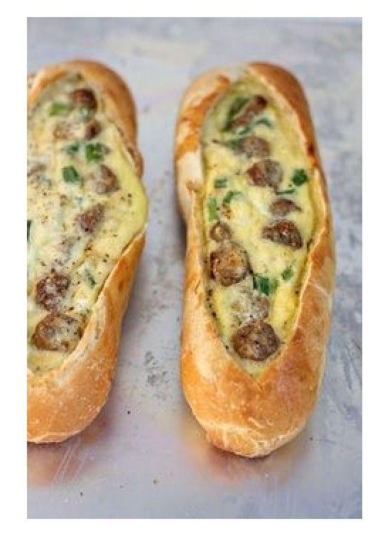 Sausage Egg Boats!