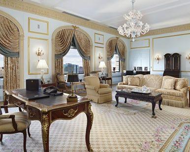 Waldorf Astoria® New York Hotel, NY - The Royal Suite | NY 10022