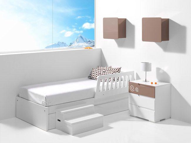 M s de 1000 ideas sobre barandillas de cama en pinterest - Barandilla escalera ninos ...