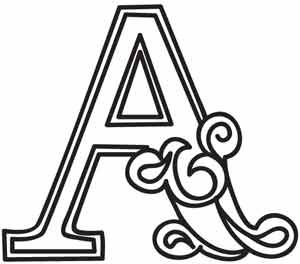 229 best Alphabet only A images on Pinterest | Monograms ...