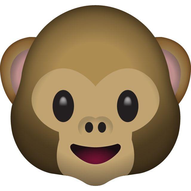 Картинка обезьяны эмодзи
