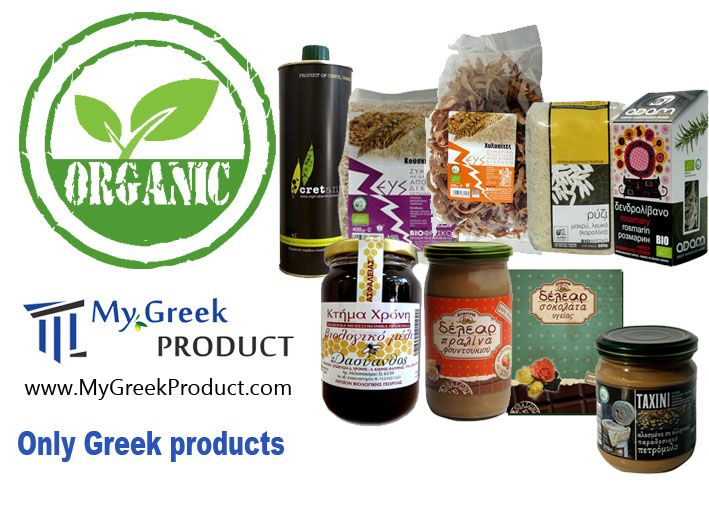 We make it easy to taste organic food online... Organic unique Greek Products.... Discover it...http://mygreekproduct.com/en/27-organic-bio