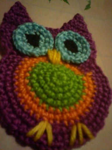 Crochet owl...