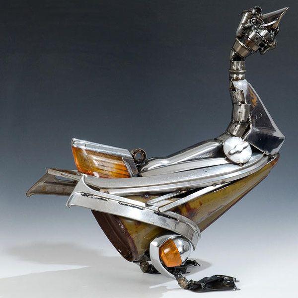 James Corbett. Искусство из металлолома (Интернет-журнал ETODAY)