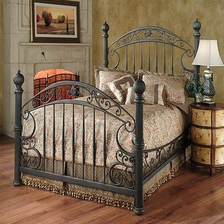 17 Best Images About Fancy Iron Beds On Pinterest