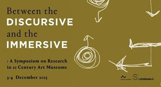 CALL FOR PAPERS - Between the DISCURSIVE and the IMMERSIVE - Stedelijk Museum Amsterdam