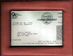 Cosmetology license sample FOR WASHINGTON | Cosmetology ...