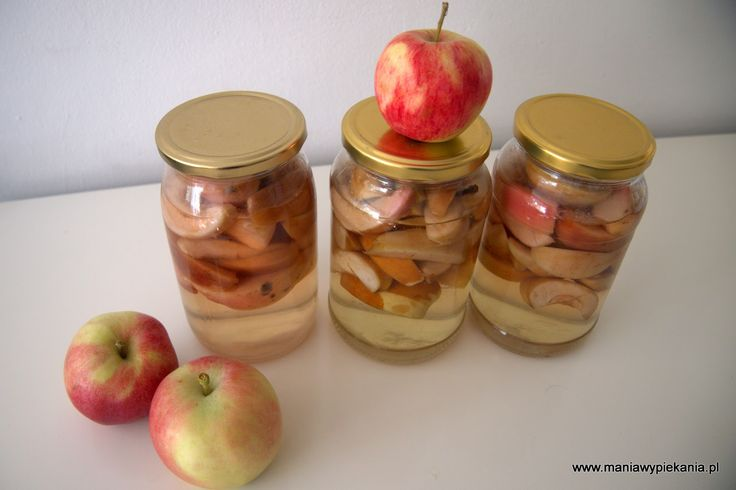 Kompot jabłkowy na zimę