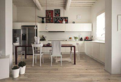 Suelos de madera para la cocina - Suelos rusticos para cocinas ...