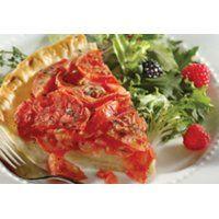 Fiche recette | Tarte aux tomates, au fromage et au thym | SAQ.com