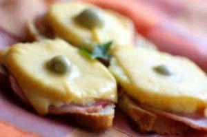 Бутерброды гавайские
