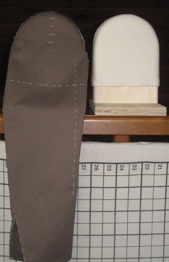 Taste Werkzeug benutzt, um die Kappe einer Hülse zu gestalten.