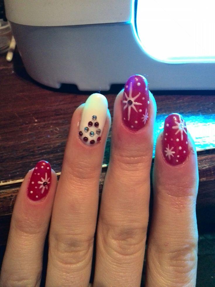 Christmas nails #nails