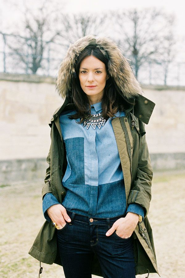 Vanessa Jackman: Hedvig Opshaug from The Northern Light blog, Tuileries, Paris, March 2012.