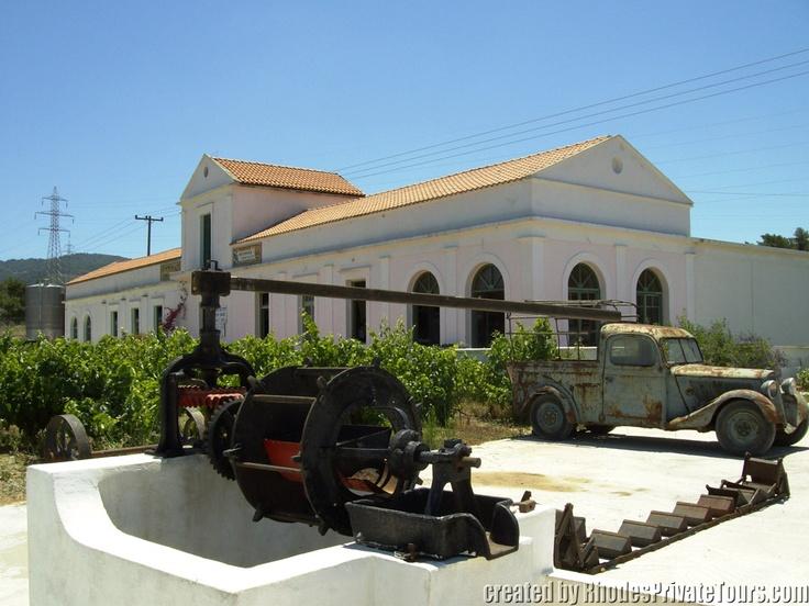 The west coast of Rhodes Island - Anastasia Winery