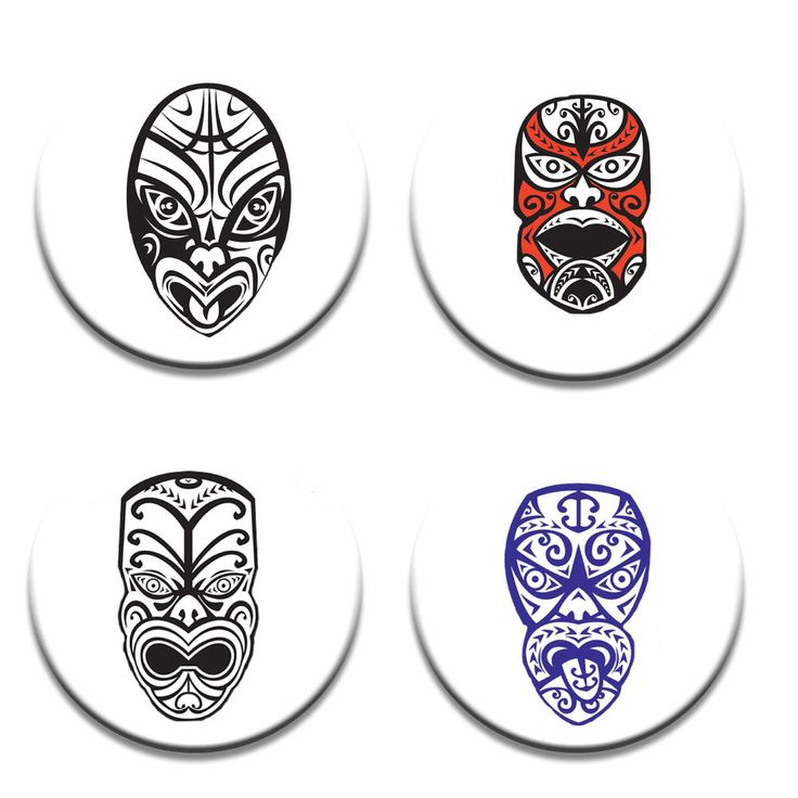 A Pack of 4 New Zealand Maori design Pattern Weights inspired TV Sewing Bee #ricemetalscreationscouk