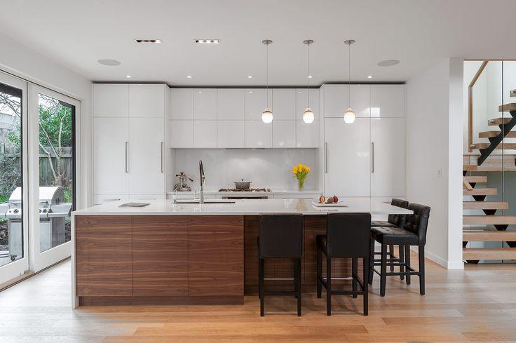 Scandinavian-Influenced Kitchen Design and Millwork