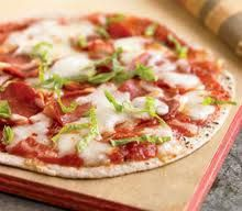 Biggest Loser Recipes - Pepperoni Pita Pizza or Make a Margherita Pizza, Yum!