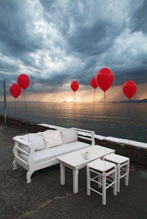 Jackie O' Bar at Mykonos by Vasilis Tsikkinis