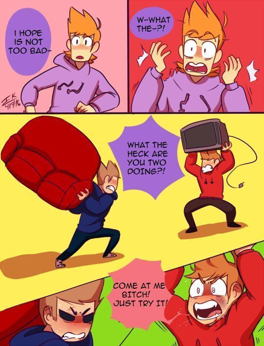TomTord Comics/Pictures 💘 - Edds World Omegaverse ( Not