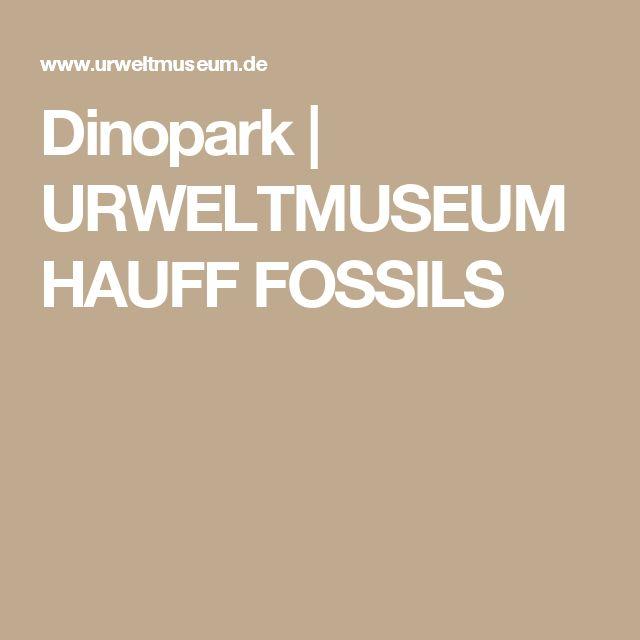 Dinopark | URWELTMUSEUM HAUFF FOSSILS