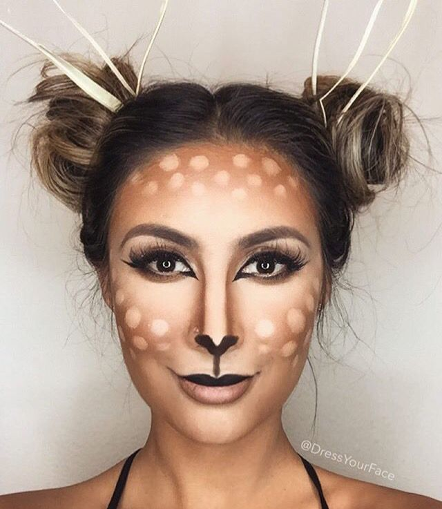 Pretty Deer Makeup - DYF