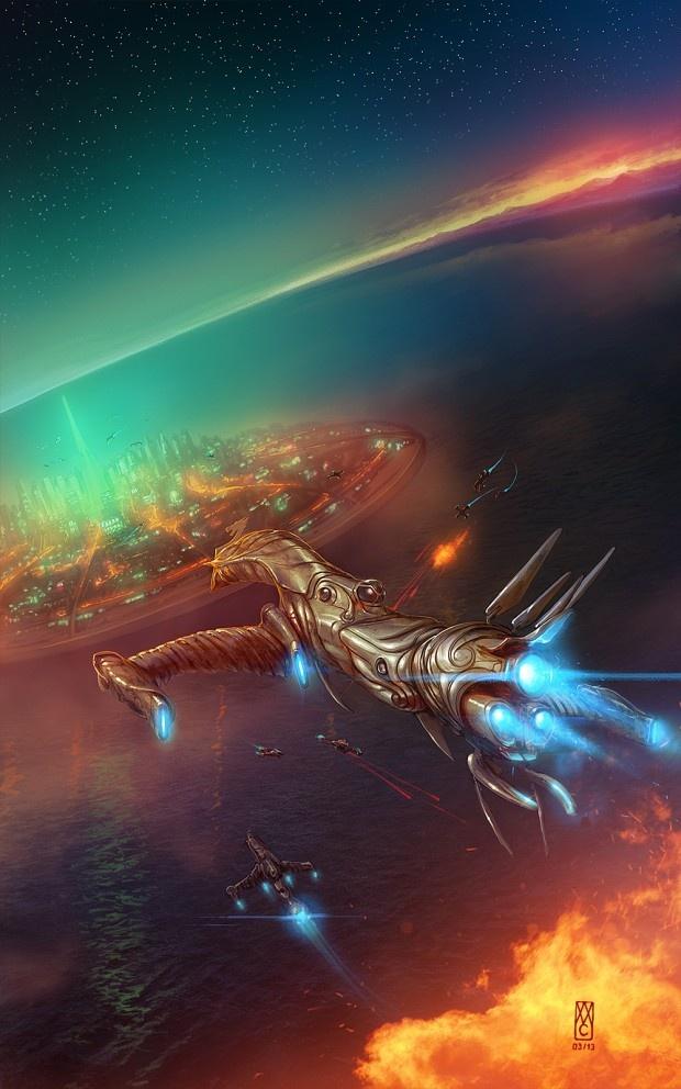 Aurora Battle designed by ~WillhelmKranz