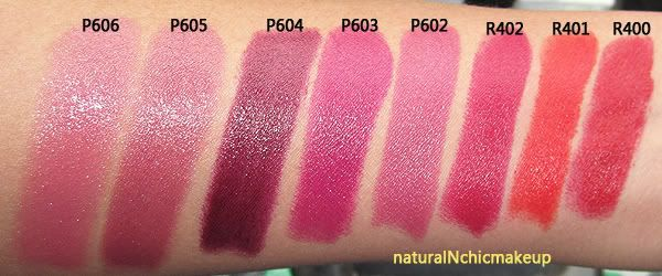 Giorgio Armani Rouge D Armani Lipstick Swatches And