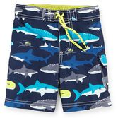 Your little guy will feel like he's swimming with the sharks in these trunks! Pair them with a matching rash guard to complete the look.