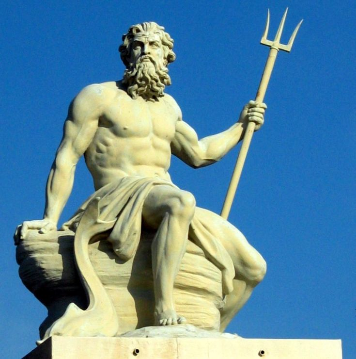 32 best poseidon images on pinterest greek gods greek mythology and tattoo ideas - Poseidon statue greece ...
