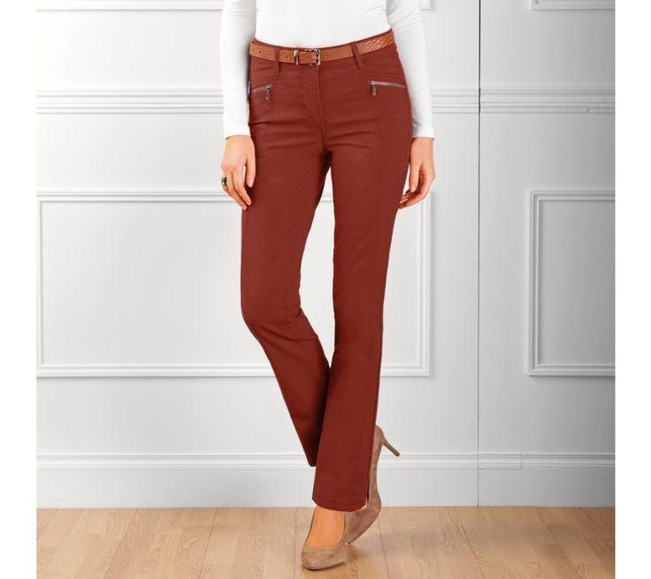 Rovné nohavice v predlžujúcom strihu | blancheporte.sk #blancheporte #blancheporteSK #blancheporte_sk #autumn #fall #jesen #nohavice